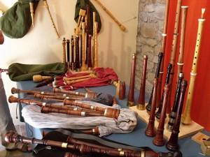 Instruments fabricats per en Jordi Aixalà i Basora